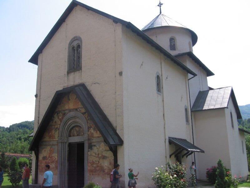 Церковь Успения Богородицы монастырь Морача
