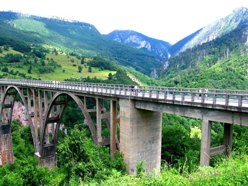 Мост Джурджевича Тара Черногория