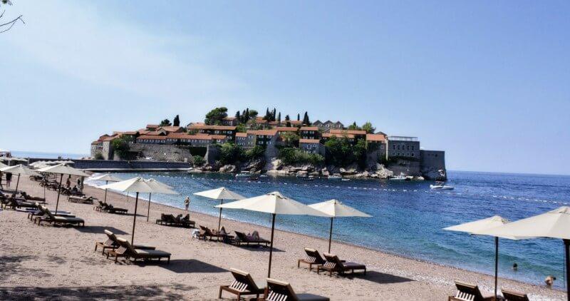 Королевский пляж Святой Стефан