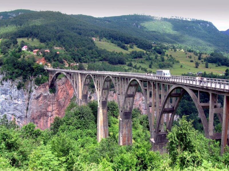 Мост Джурджевича Каньон Тара
