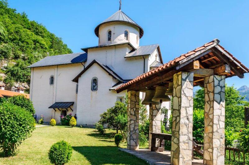 Монастырь Морача Черногория