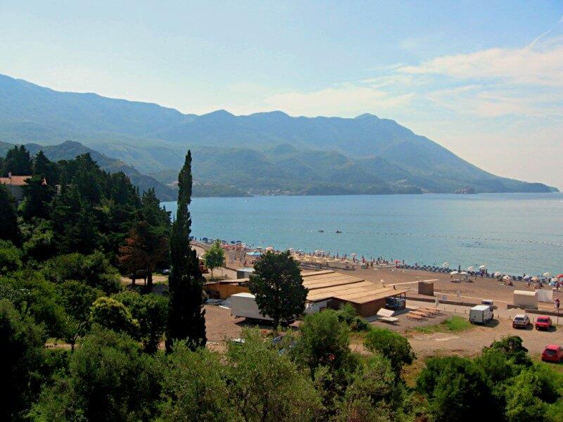 Пляж Бечичи Черногория