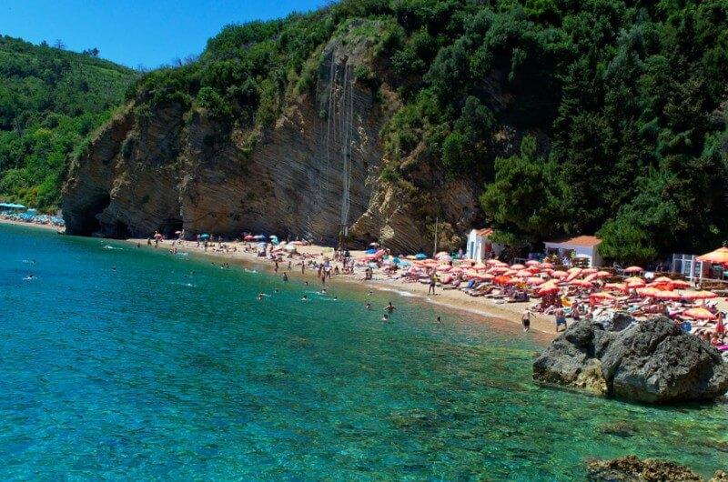 Пляж Магрен Будва