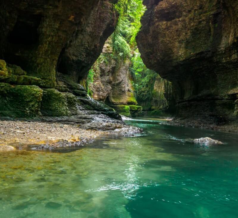 каньон реки Комарница