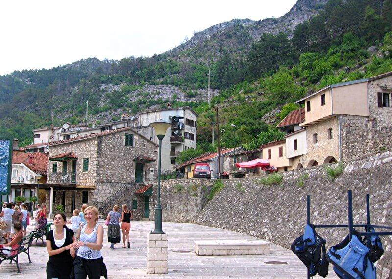 Деревня Вирпазар Черногория