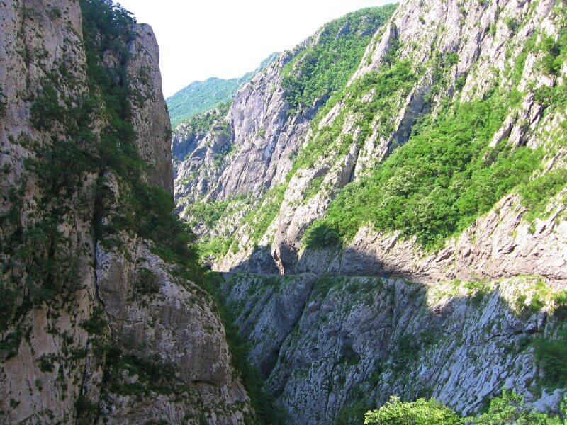 Каньон реки Морача Черногория