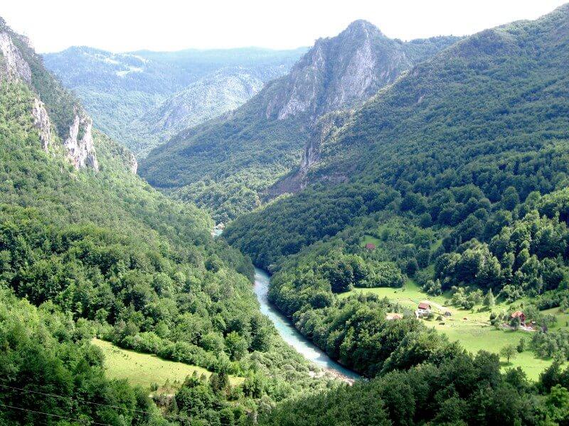 В горах Черногории
