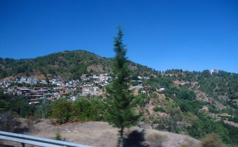 Горная деревня Кипр