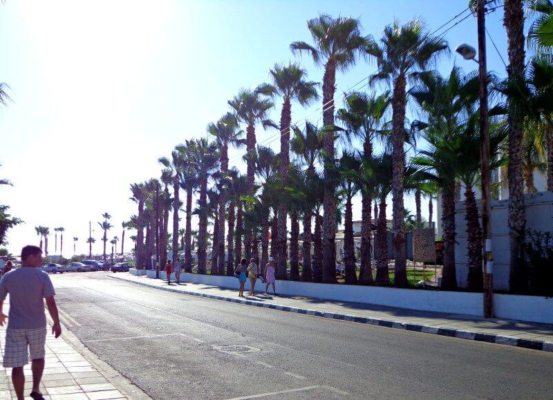 Дорога на пляж Протарас