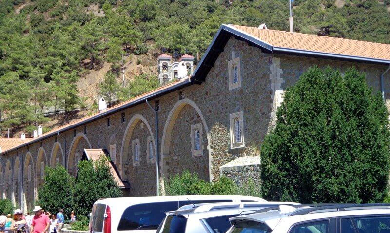 Монастырь Киккос фасад
