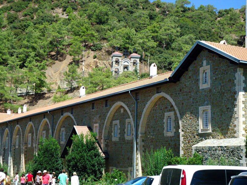 Монастырь Киккос Кипр