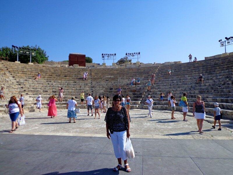 Театр Курион Кипр