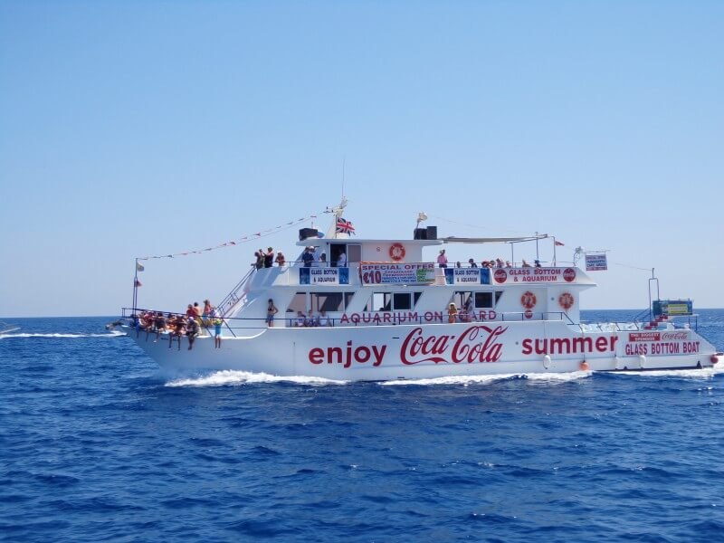 Морские прогулки из Протараса Кипр