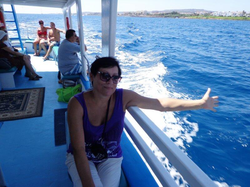 В открытом море Кипр