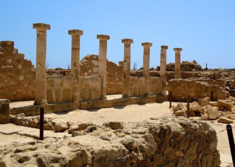 Древний Пафос Кипр