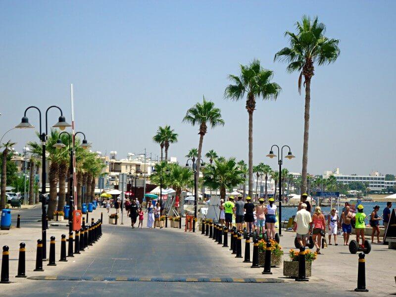 Набережная Пафоса Кипр