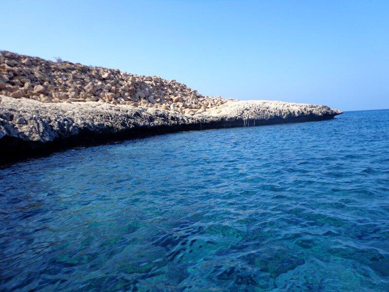 Воды Голубой лагуны Кипр