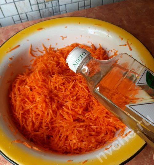 морковь и масло
