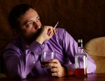 курение и алкоголь при стрессе
