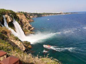 водопад Дюден Анталия Турция