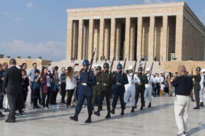 Аныткабир – мавзолей Ататюрка в Анкаре турция