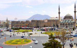Кайсери город в Турции