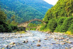 в горах региона Черного моря Турция