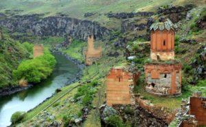 древний город Ани Турция