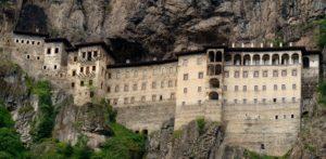 монастырь Панагия Сумела Турция