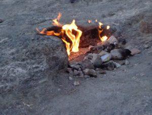 огни горы Химеры Турция