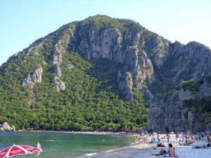 пляж Олимпос Турция