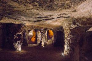 подземные города центральной Анатолии Турция