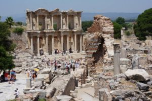 руины города Эфес Турция