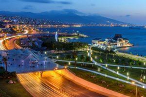вечерний Измир Турция