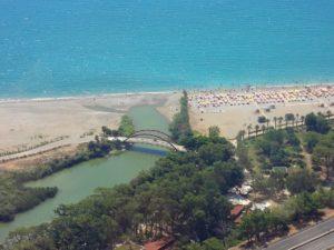 пляж в Анталии Турция