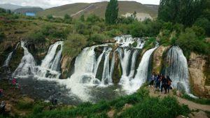 водопад Мурадие провинция Ван Турция