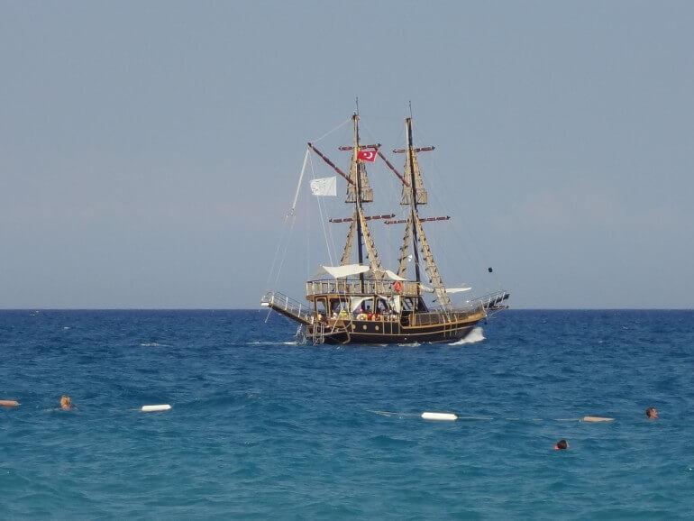 море Анталия Турция