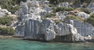руины городов древней Ликии Турция