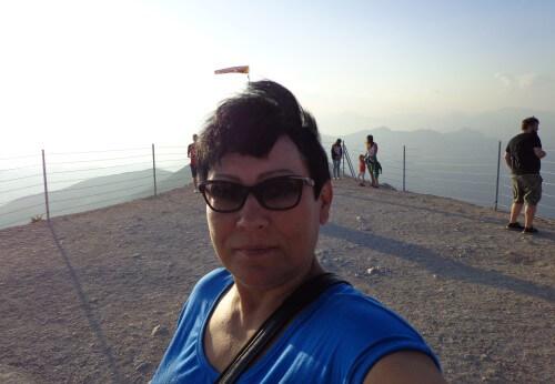 на вершине горы Тахталы Турция