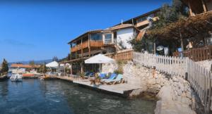 рыбацкая деревня Калекёй Турция