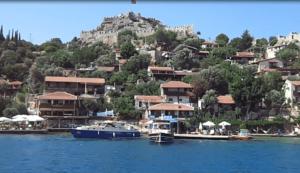 деревня Калекёй и крепость Симена Турция