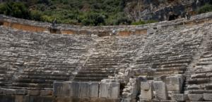 амфитеатр город Мира Турция