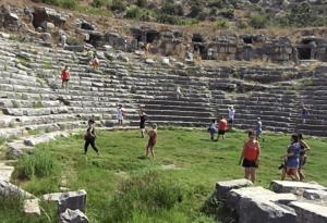 амфитеатр город Лимира Турция