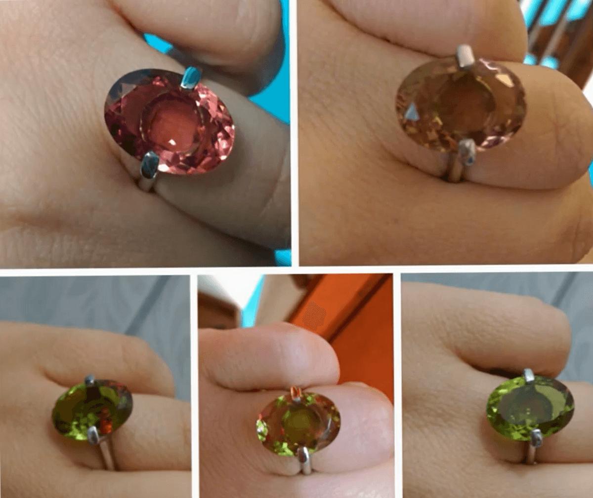 цвета камня султанит