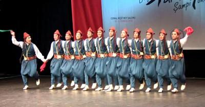 турецкий танец Халай