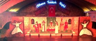 турецкое шоу в Бельдиби Турция