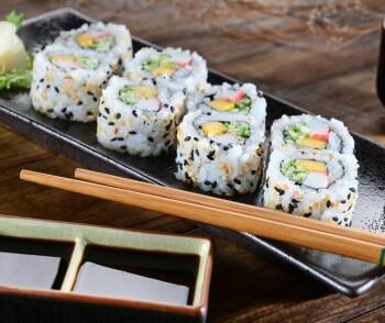 суши и ролы