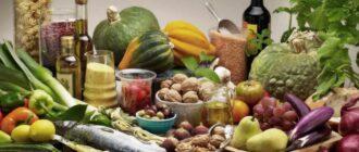 средиземноморская диета в России