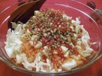 зимний греческий салат